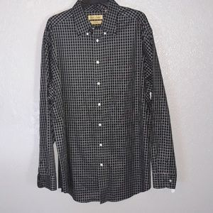 Roundtree and Yorke Gold Label button up shirt